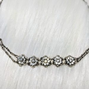 Vintage Jewelry - Sparkly Rhinestone Choker